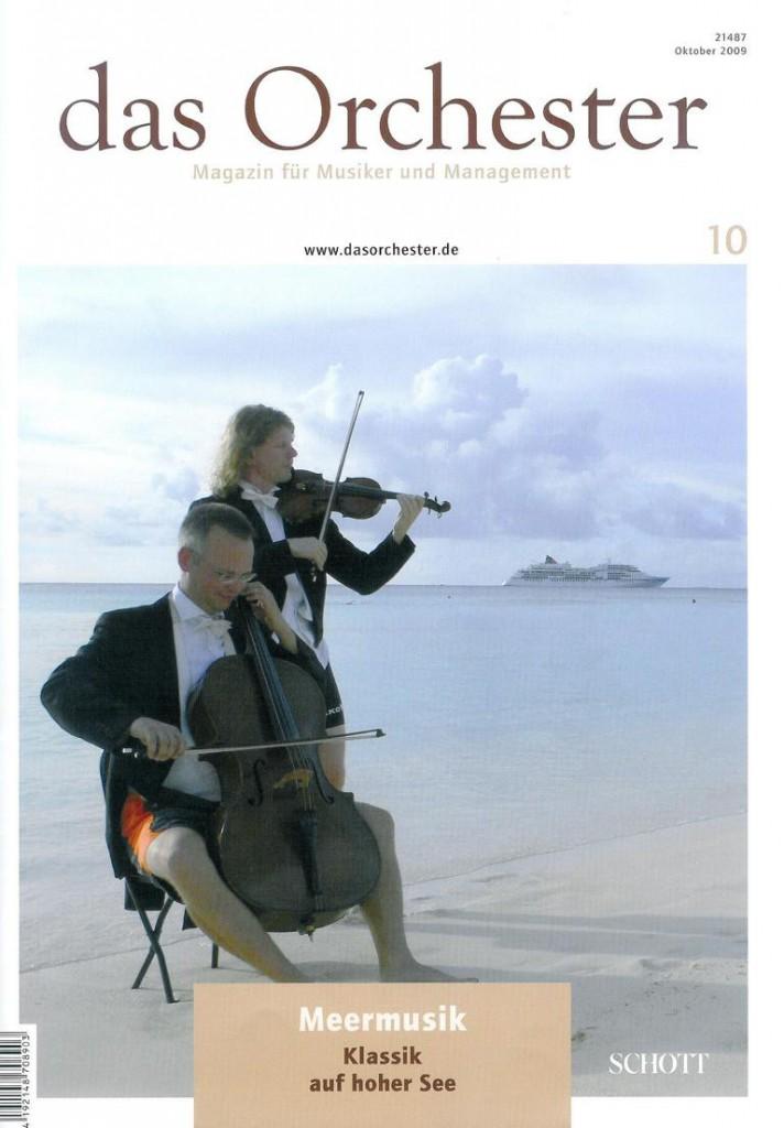 Das Orchester 10-2009
